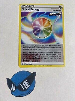 Pokemon TCG : Spiral Energy 159/198 Reverse Holo Chilling Reign