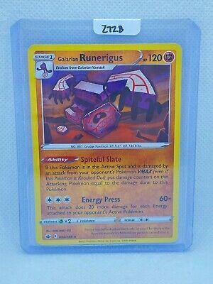 Pokémon TCG Galarian Runerigus Holo 083/198 | Chilling Reign | Play/Grade Ready