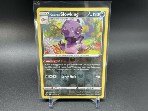 CHILLING REIGN GALARIAN SLOWKING 098/198 REVERSE HOLO