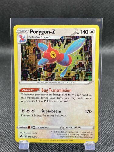 Chilling Reign Pokemon TCG Porygon-Z 118/198, Holo 2021