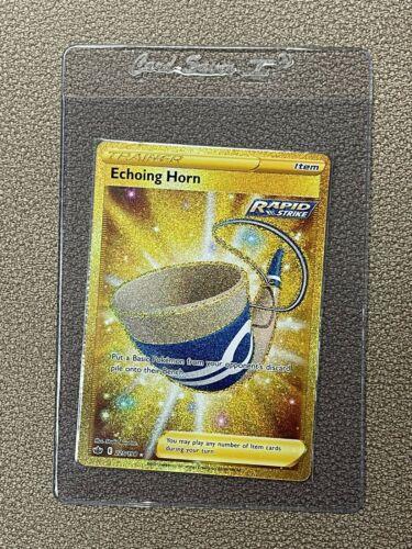 Chilling Reign Echoing Horn 225/198 Secret Rare NM-M