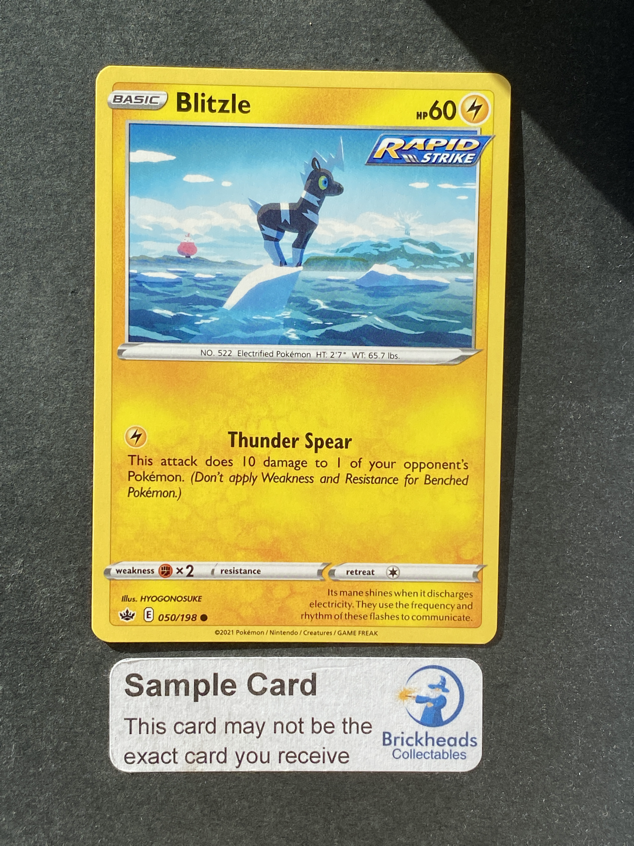 Blitzle 050/198 Common | SWSH: Chilling Reign | Pokemon Card