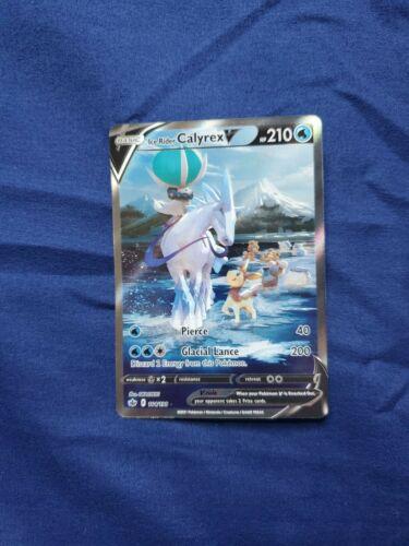 Ice Rider Calyrex V 164/198 Chilling Reign  Pokemon Card Alternate Full Art NM
