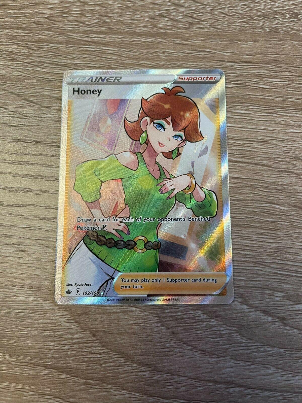 Pokemon Honey Full Art Trainer Chilling Reign 192/198 - Image 2
