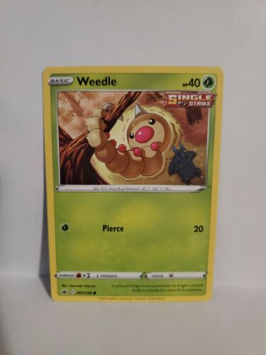 Weedle 001/198 Chilling Reign