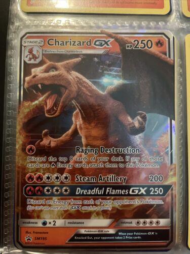 Pokémon TCG Charizard GX SM Black Star Promo SM195 Promo