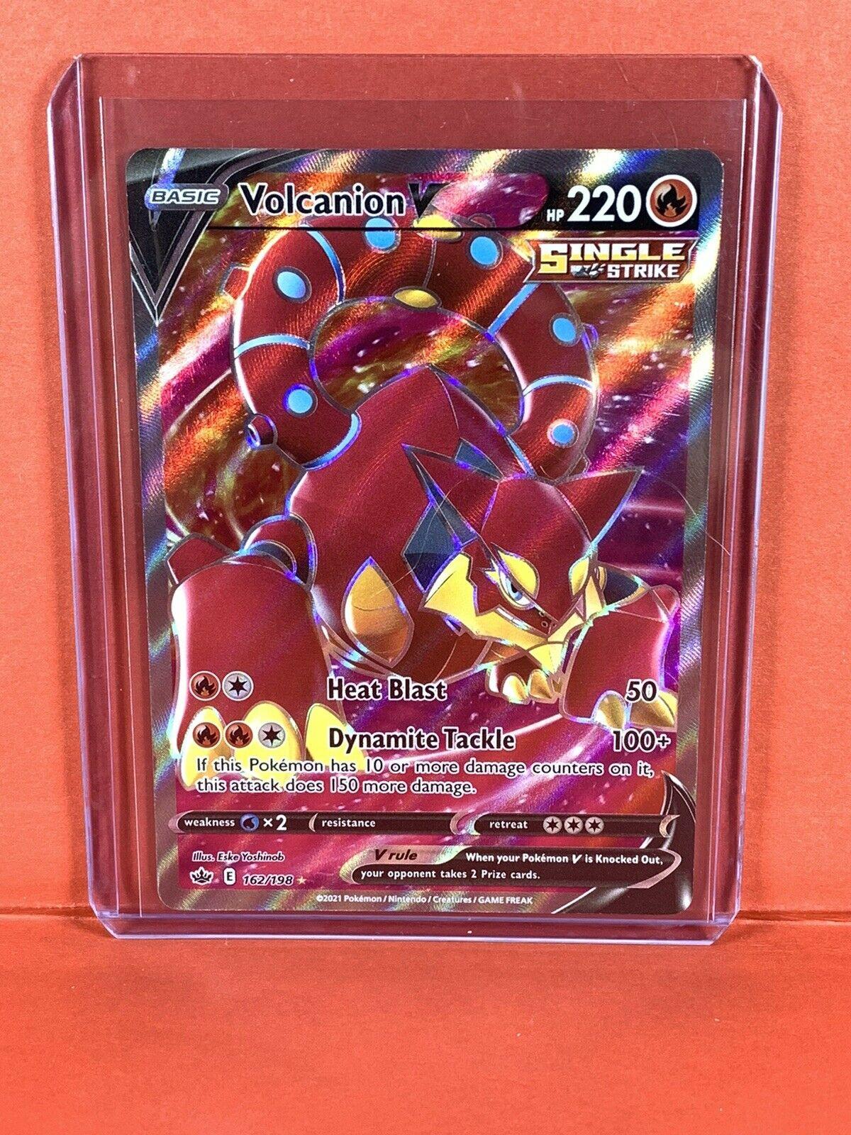 Volcanion V (Full Art) 162/198 - Chilling Reign - Pokemon TCG NM