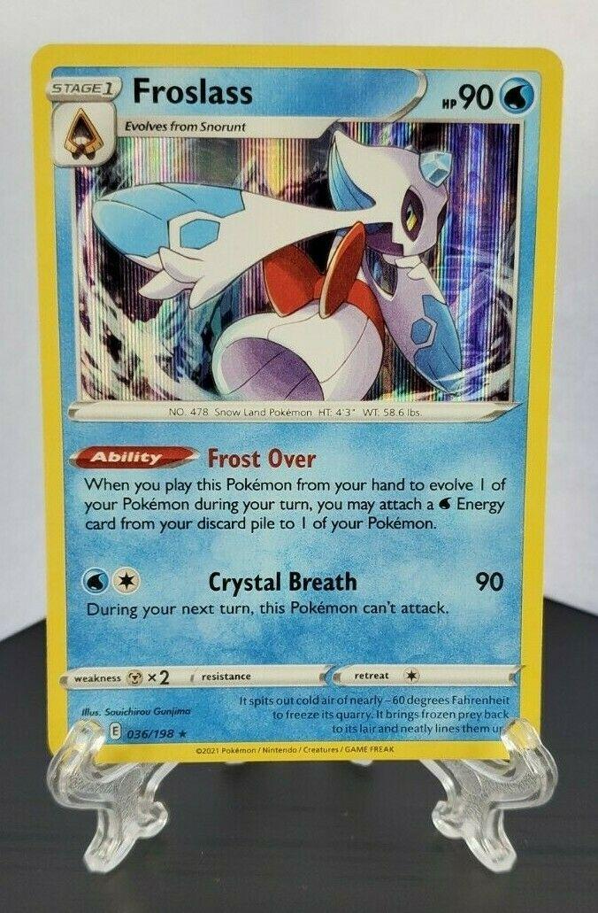 Pokemon TCG - Froslass 036/198 Holo Rare - Chilling Reign - NM