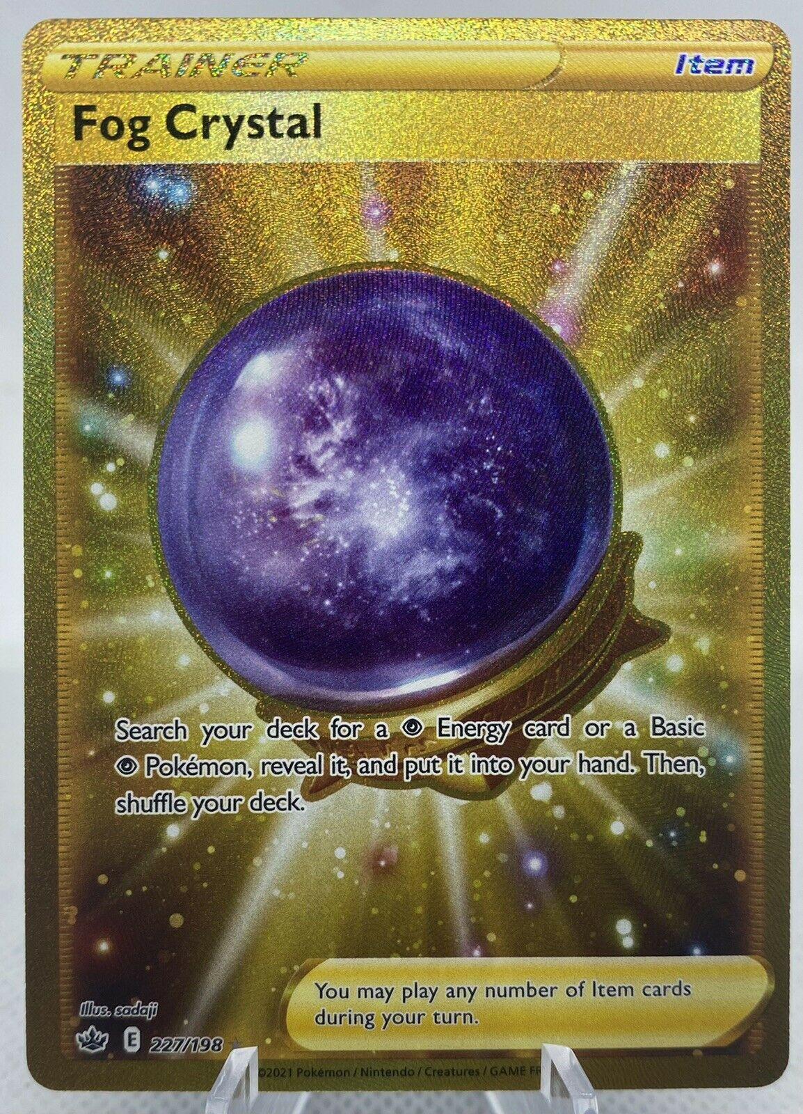 Pokemon Chilling Reign Fog Crystal Full Art 227/198 NM/M