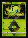 ⭐ Celebi (19/214) Pokemon Prism Star Holo Rare Sun & Moon Lost Thunder Card