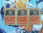 Arcanine Detective Pikachu 6/18 Near Mint Holo Rare Pokemon ×3