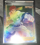 Bruno 172/163 Full Art Secret Rare Battle Styles Rainbow Pokemon Card MINT