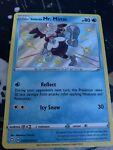 Pokémon TCG Galarian Mr. Mime Shining Fates SV020/SV122 Holo Shiny Holo Rare