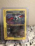 Skarmory 27/165 - Holo Rare Expedition - E-Reader Pokemon Card Swirl