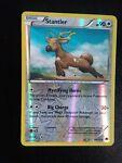 Reverse Holo Stantler XY Breakpoint 91/122 Pokemon Card