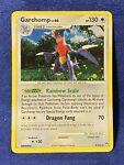 Garchomp 9/123 Holo Rare - See Pics! Pokémon Mysterious Treasures