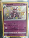 Hattrem SHINY SV055/SV122 Shining Fates NM Holo Foil Rare Pokemon Card