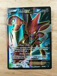 Scizor EX 119/122 Breakpoint NM Ultra Rare Full Art Pokemon Card