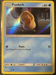 Pokemon Card - Detective Pikachu - 7/18 Psyduck Common Holo - NM