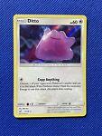 Ditto 17/18 Detective Pikachu Holo Rare Pokemon TCG Card NM FREE SHIPPING!!