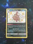 Pokemon Card - Shining Fates Shiny Holo Rare Galarian Weezing SV077/SV122 - NM