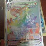 Urshifu Vmax 169/163 Full Art Rainbow Battle Styles Pokemon card NM Rapid Strike
