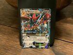 Mega M Scizor EX 77/122 XY Breakpoint Ultra Rare Full Art Holo 2016 Pokemon Mint