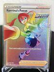 Korrina's Focus 174/163 Full Art Trainer Rainbow - Pokemon TCG Battle Styles NM
