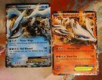 Reshiram BW36 and Kyurem BW37 EX Holo Promo 2012 Pokémon Cards