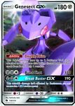 x1 Genesect GX - 130/214 - Ultra Rare Pokemon SM8 Lost Thunder M/NM