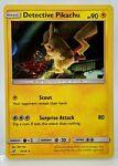 HOLO Detective Pikachu 10/18 Pokemon Card 2019 Special Edition LP
