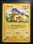 Pikachu Pokemon Card 124/165 2002 Expedition Set
