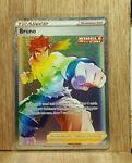 Pokemon TCG Bruno Rainbow 172/163 Battle Styles Secret Rare