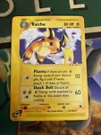 Raichu Pokemon Expedition Set 61/165 e-Reader RARE - Moderate Played