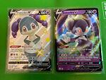 Indeedee V SV114/SV122 Full Art Shiny & 039/072. Pokemon Card Shining Fates MINT