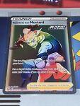 RAINBOW RARE - Single Strike Style Mustard 177/163 Pokemon TCG Battle Styles