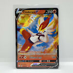Pokemon Shining Fates Cinderace V Ultra Holo Rare 018/072
