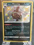 Galarian Weezing - SV077/SV122 - Shiny Holo Rare Pokemon Shining Fates -NM/MINT