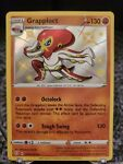 Pokémon TCG Grapploct Shining Fates SV073/SV122 Holo Shiny Holo Rare