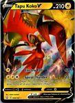 Tapu Koko V 050/163 Pokemon Battle Styles Ultra Rare Near Mint