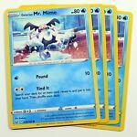 4x Galarian Mr. Mime 034/163 Common Battle Styles Pokemon TCG Play Set NM/M