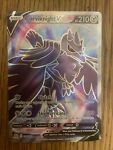 Pokemon Card Corviknight V 156/163 Sword & Shield Battle Styles TCG Authentic