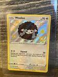 Pokemon - Shining Fates - WOOLOO SV103/SV122 - Shiny Holo Rare - NM/M Fresh Pull