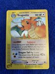 2002 Pokémon Expedition Dragonite Holo 9/165 - Near Mint Condition