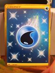 Water Energy 231/198 Gold Secret Rare Chilling Reign Pokémon Card NM 2021