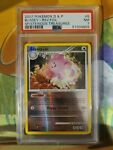 2007 Pokemon D&P Mysterious Treasures Blissey Reverse Holo Rare PSA 7 NM 5/123