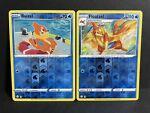 Buizel 022/072 & Floatzel 023/072 Reverse Holo Set Pokémon Shining Fates NM