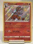 Cinderace SV017/SV122 Pokémon Shining Fates Shiny Vault Shiny Holo Rare NM