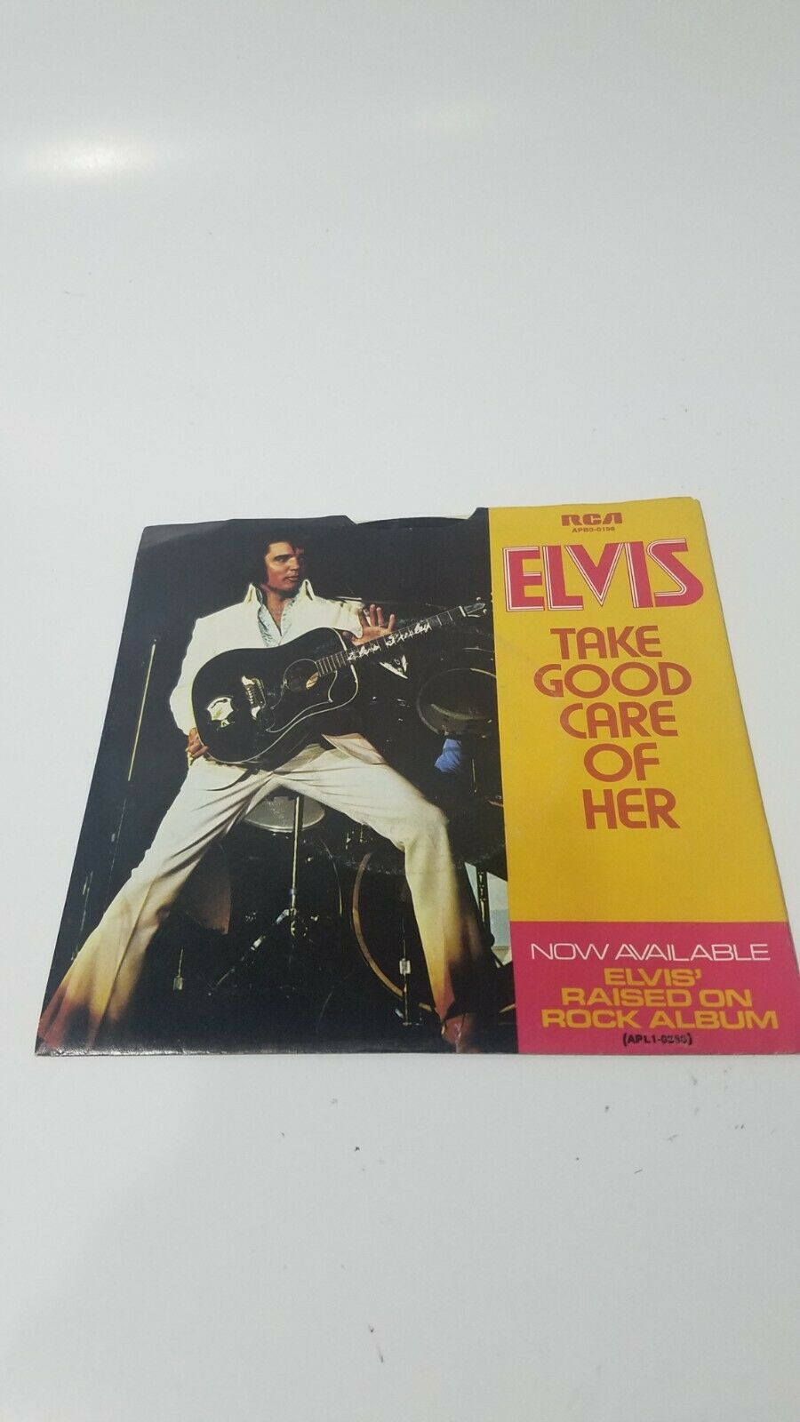ELVIS PRESLEY - IVE GOT A THING ABOUT YOU BABY - 1973 45 RPM