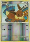 Eevee 47/90 Reverse Holo HGSS Undaunted Pokemon Card TCG Near Mint